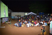 Middle East and Africa: Public Viewing in Côte d'Ivoire during the 2014 FIFA World Cup