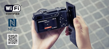 Picture of a6400 E-mount camera with APS-C Sensor