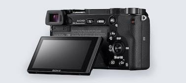 Picture of a6000 E-mount camera with APS-C Sensor
