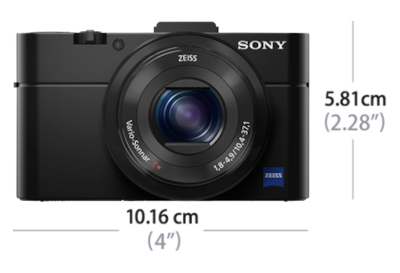 Picture of RX100 II Advanced Camera with 1.0-type sensor