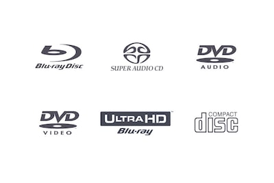 Compatible disc format logos