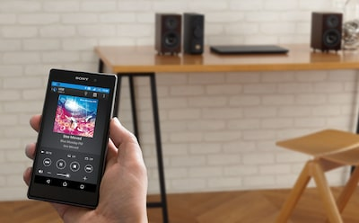 Control music and multi-room listening with the SongPal app