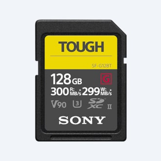 Picture of SF-G series TOUGH specification memory card