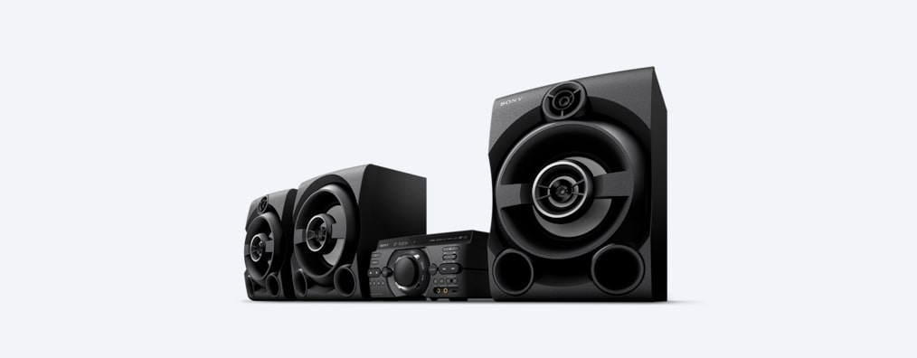 Images of M80D High Power Audio System with DVD
