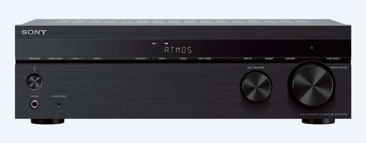 7 2ch Dolby Atmos HDR 4K AV Receiver   STR-DH790   Sony Asia Pacific