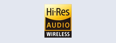Hi-Res Audio wireless logo