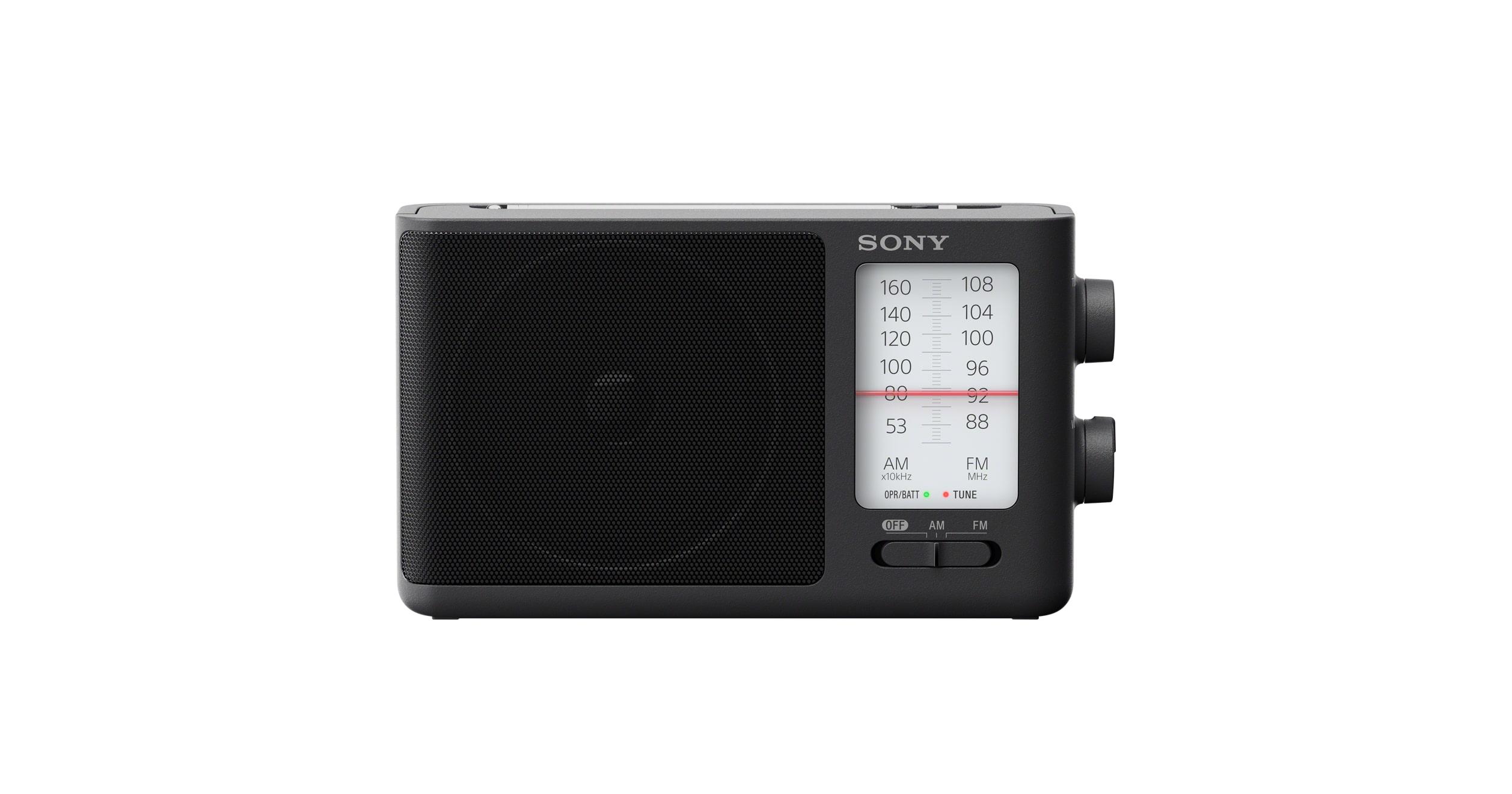 Analog Tuning Portable FM/AM Radio | ICF-506 | Sony Asia Pacific