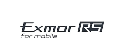 Exmor RS™ for mobile sensor logo
