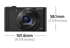 Picture of WX800 Compact High-zoom Camera | 4K Recording