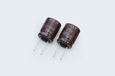 Sony original capacitors