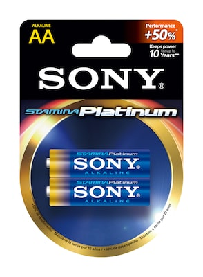 Images of Alkaline STAMINA Platinum Batteries -Size AA-