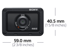 Picture of RX0 II premium tiny tough camera