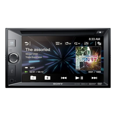 "Picture of 15.75cm (6.2"") LCD DVD Receiver"