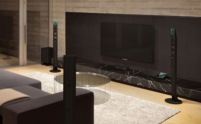Sony home cinema surround sound experience