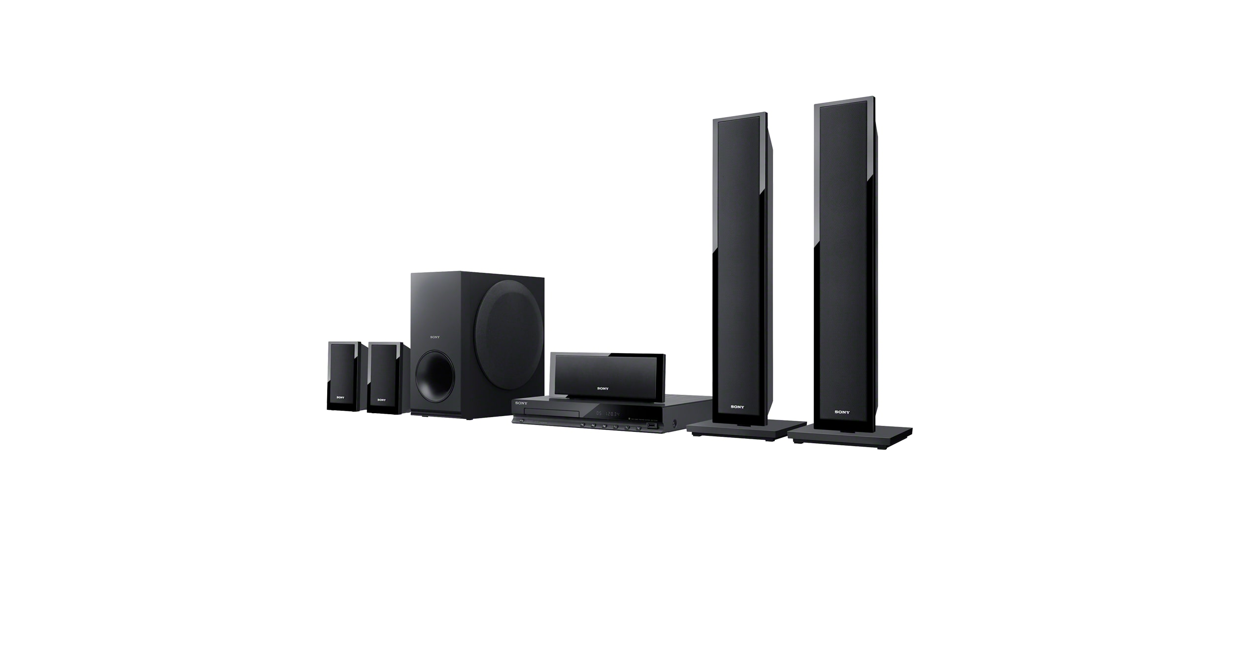 DVD Home Cinema System | DAV-TZ150 | Sony Asia Pacific