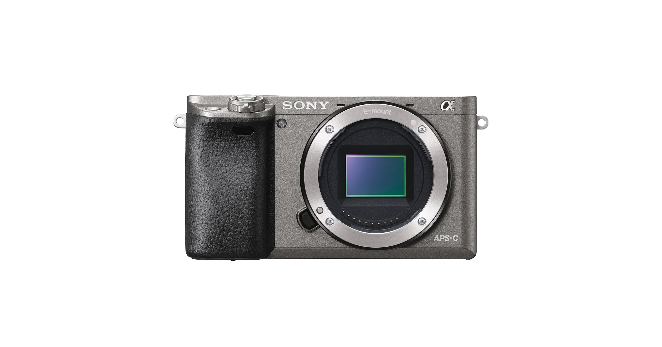 α6000 E-mount camera with APS-C Sensor