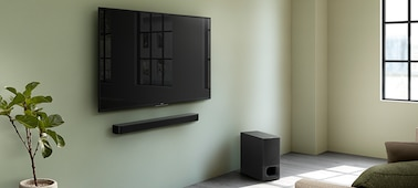 Picture of 2.1ch Soundbar with powerful wireless subwoofer and BLUETOOTH® technology | HT-S350