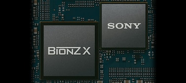 Image showing printed circuit board with LSI IC and BIONZ X image processing engine