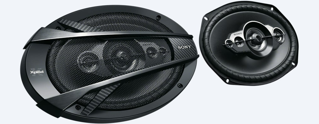 "Images of 16 x 24cm (6 x 9"") 5-Way Coaxial Speaker"