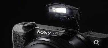 Picture of a5100 E-mount camera with APS-C sensor