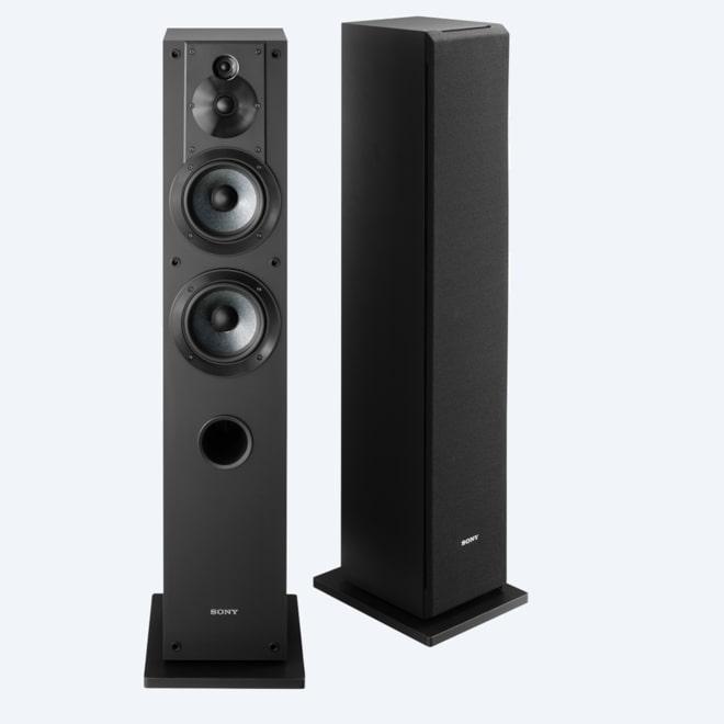 Picture Of Stereo Floor Standing Speaker Package