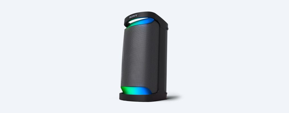 Image of the XP500 X-Series Portable Speaker from the front.