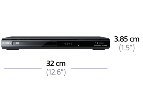 Picture of DVD Player with USB
