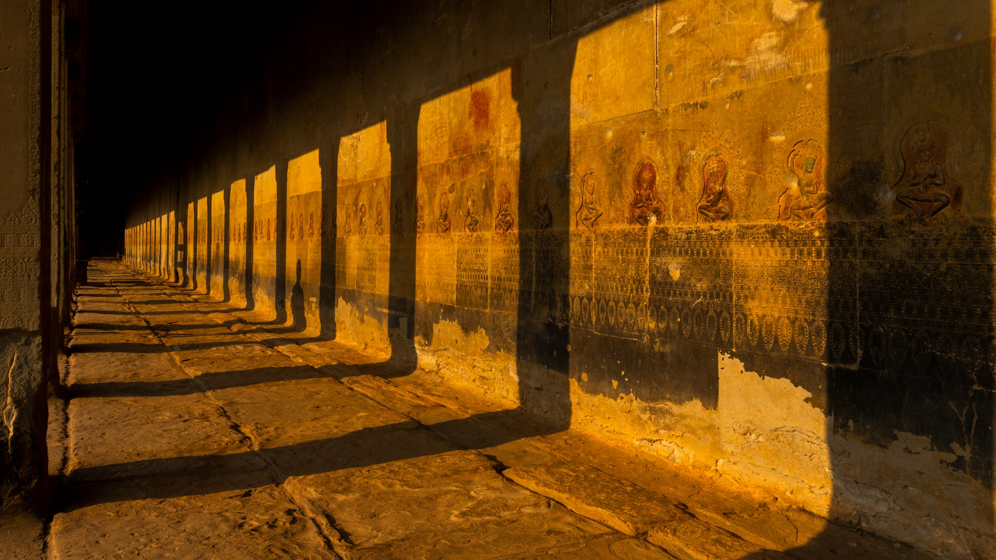 Capturing the true colours of Angkor Wat