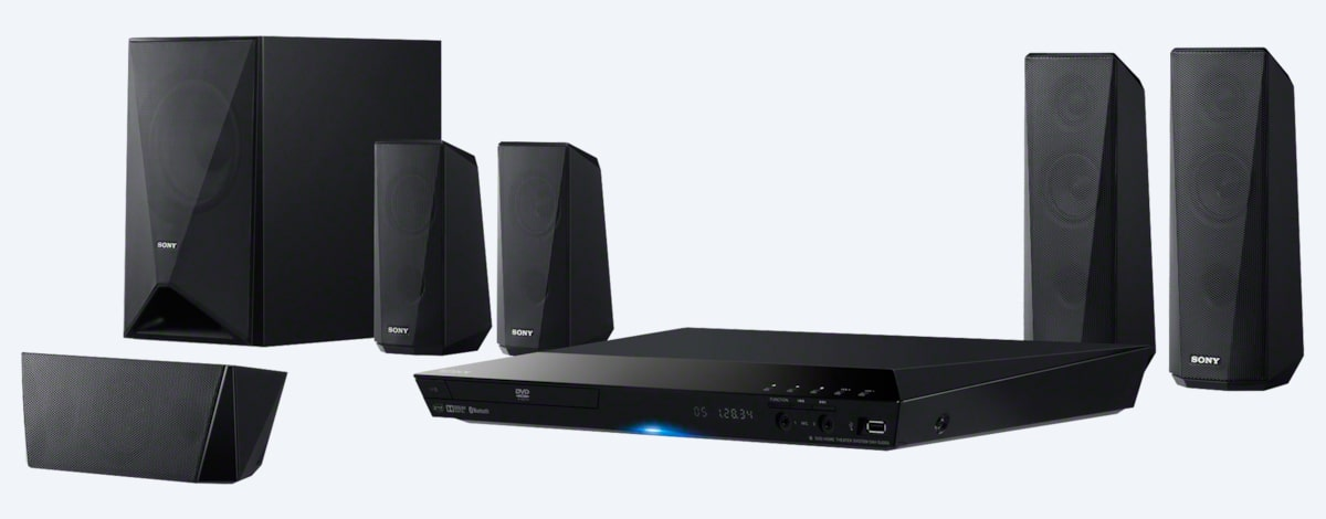 DVD Home Cinema System with Bluetooth® | DAV-DZ350 | Sony Asia Pacific