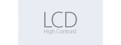 LCD High Contrast icon