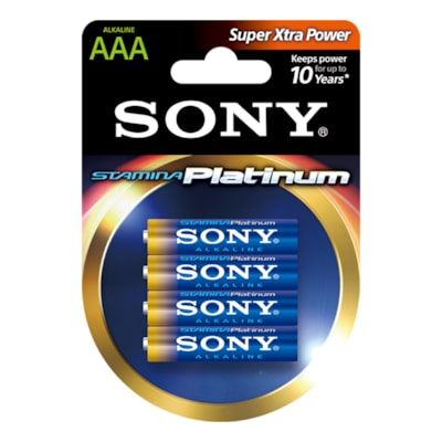 Images of Alkaline STAMINA Platinum Batteries -Size AAA-