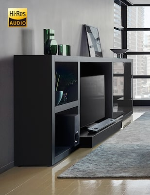 High Resolution Audio sound bar