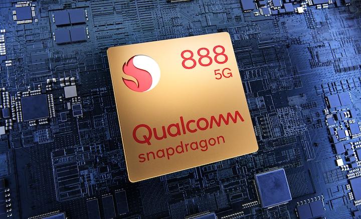 Układ Qualcomm Snapdragon 888 5G na płytce drukowanej