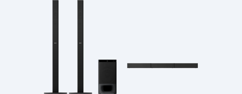 Images of 5.1ch Home Cinema Soundbar System with Bluetooth® technology | HT-S700RF