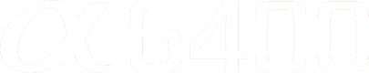 Logo Sony A6400