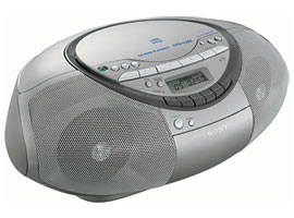 CFD-S350-CD / Radio / Cassette Players-CD Radio Cassette Player