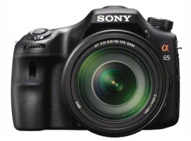 SLT-A65VM-Interchangeable Lens Camera-SLT-A65V