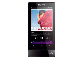 NWZ-F805/B-Walkman® Digital Media Players-F Series