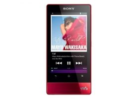 NWZ-F805/R-Walkman® Digital Media Players-F Series
