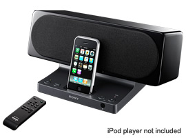 SRS-GU10IP-Wireless Speakers-iPod/iPhone Dock Speakers