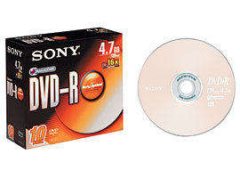 10DMR47S3-Data Storage Media-DVD