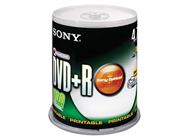 100DPR47SP3-Data Storage Media-DVD