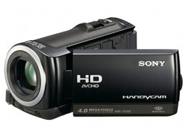 HDR-CX100E/B-Handycam® Camcorder-Flash / Memory Stick