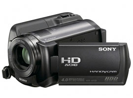 HDR-XR100E-Handycam® Camcorder-Hard Disk Drive (HDD)