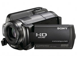 HDR-XR200E-Handycam® Camcorder-Hard Disk Drive (HDD)