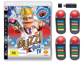 Buzz Quiz TV Bundle-Game Titles
