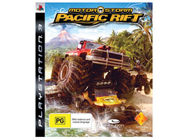 Motorstorm Pac Rift-Game Titles