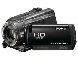 HDR-XR500E-Handycam® Camcorder-Hard Disk Drive (HDD)