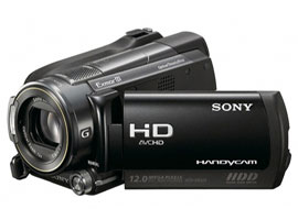 HDR-XR520E-Handycam® Camcorder-Hard Disk Drive (HDD)