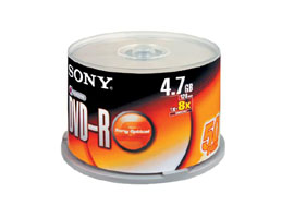 50DMR47S2-Data Storage Media-DVD